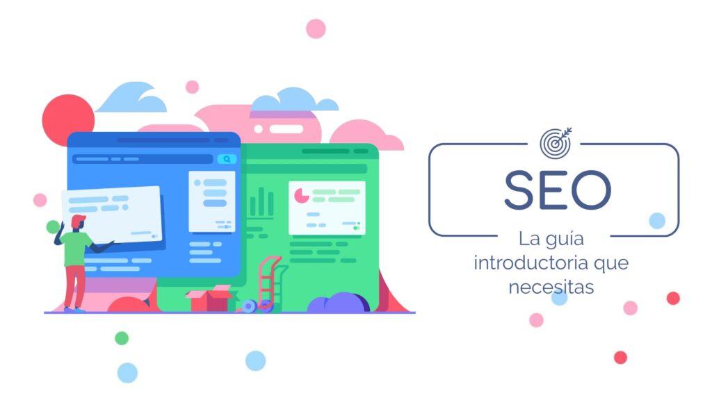 Imagen con la palabra SEO: La guía que necesitas